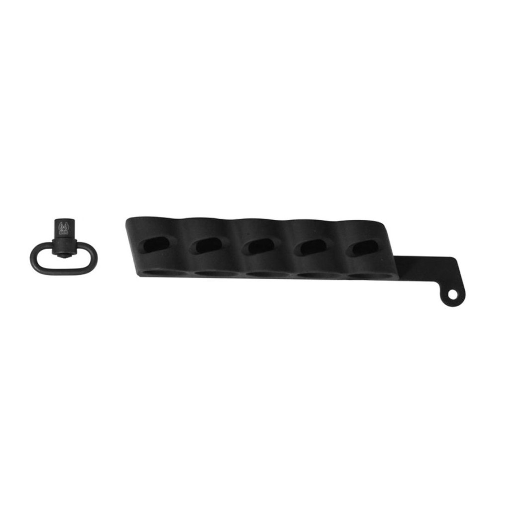 GG&G Side Saddle Shell Holder w/ QD Sling Attachment Mossberg Shockwave GGG-2002