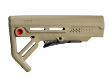 Strike Industries AR-15 Viper MOD-1 Stock FDE Red VIPER-ES-MOD1FDE-RED 708747544787 M4 Flat Dark Earth