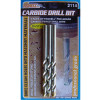 """1/4"""" Carbide Drill Bits - 3 Pack"""