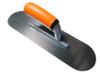 """Steel Pool Trowel Brite Grip Flex Steel 4 x 18"""" Soft Grip Handle"""