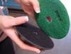"4"" Economy Grade Diamond Polishing Pad 1500 Grit"