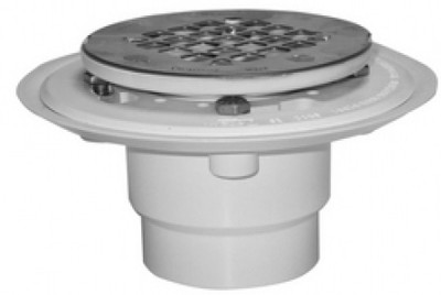 Round PVC Drain Pipe with Snap Screen