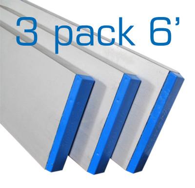 Aluminum Box Screed 6 ft - 3 Pack