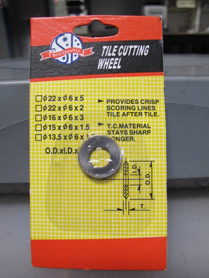 """5/8"""" Carbide Cutting Wheel Replacement for 03-440SB36"""
