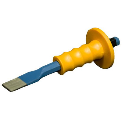 """Chisel with Target Hand Guard 1-1/2"""""""