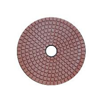 "4"" Economy Grade Diamond Polishing Pad 100 Grit"