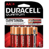 QU1500B8Z10 Duracell Battery, Alkaline, Size AA, 8pk, 8 pk/bx, 6bx/cs (UPC# 66225) Sold as cs
