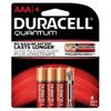 QU2400B4Z10 Duracell Battery, Alkaline, Size AAA, 4pk, 18pk/bx, 3 bx/cs (UPC# 66248) Sold as cs