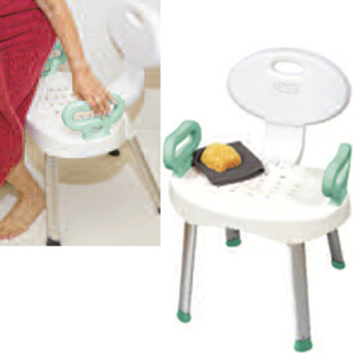 081570043 Patterson Medical EZ Bath And Shower Chair