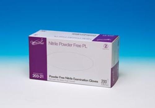 203-24 Omni International Corp. Exam Glove, Nitrile, X-Large, Powder Free (PF), 200/bx, 10 bx/cs (50 cs/plt) Sold as cs