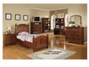 Cape Cod Chocolate Twin Bedroom set