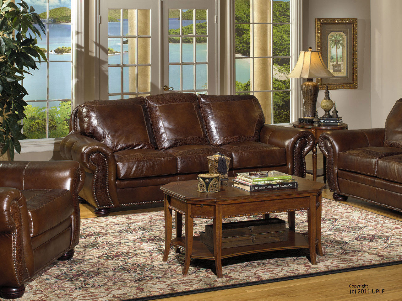 Attrayant Leather Sofa, Love Seat, Chair, Ottoman, Rocking Recliner And Power  Recliner.