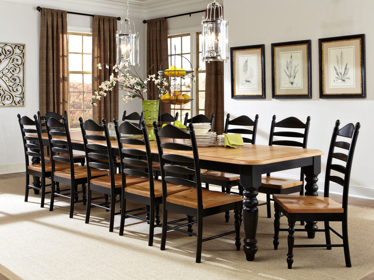 Glenwood Dining table and 4 chairs $499 - Vintage Oak