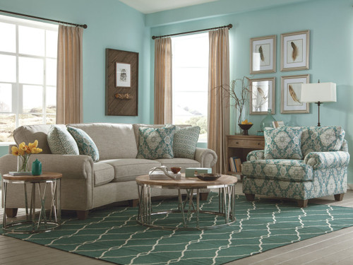 Craftmaster Custom Design Can Choose many options like fabric and wood choice. C914256RS