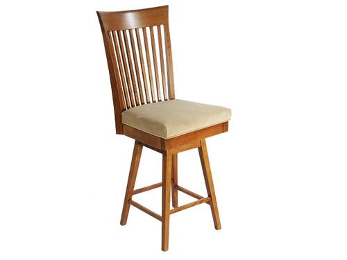 Loft Barstool W/ Upholstered Seat