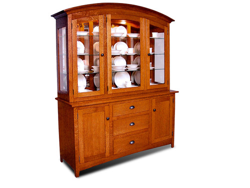 HS8500 Old Century China Hutch and Server