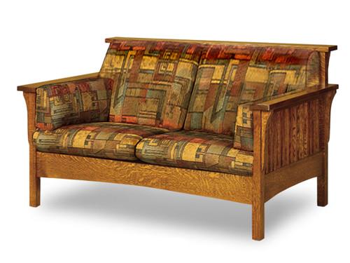 5200L Fireside High back Love seat
