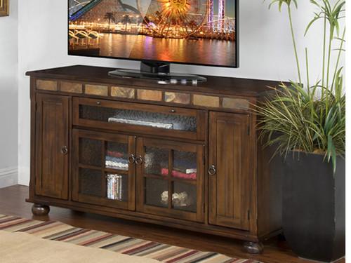 2728DC Entertainment stand Dark Chocolate