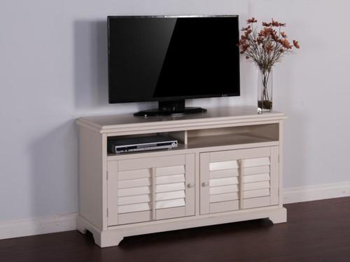 "3497VW White TV Console 54"""