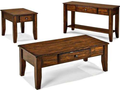 Kona Coffee Table Set  sc 1 st  Vintage Oak & Furniture - Living Room - Coffee \u0026 End Tables - Page 1 - Vintage Oak