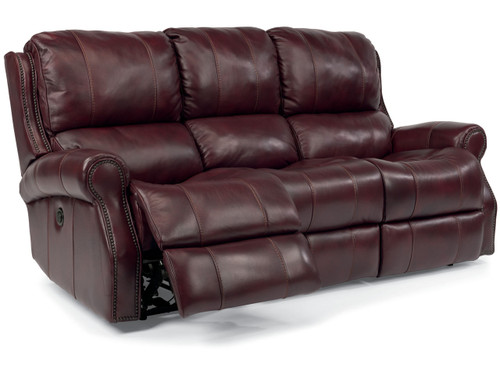 MILES LEATHER RECLINING SETS-
