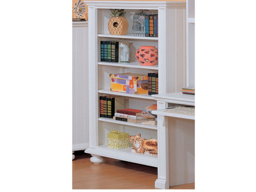 Cape Cod Pure White Bookcase