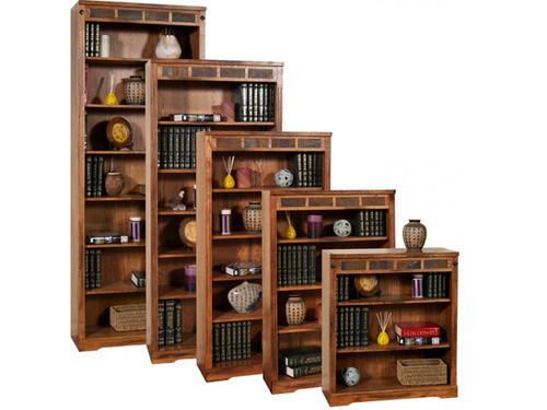 "Sedona Bookcases  Available in 36"", 48"", 60"" 72"" and 84"" hieghts"
