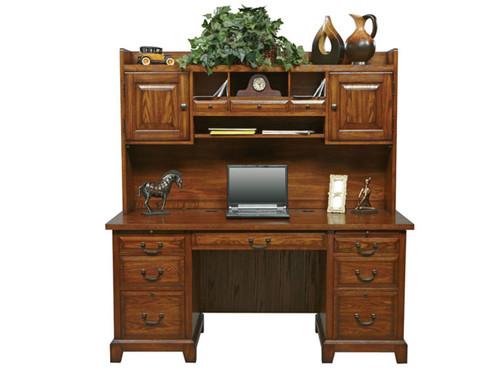 "Zahara 66"" Desk with Hutch"