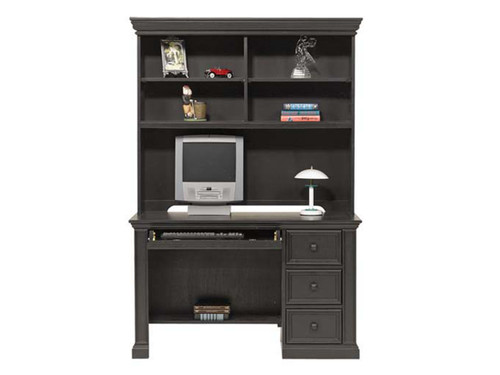 "Cape Cod 50"" Desk And Hutch- shown in Ebony Finish"