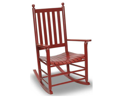 Rocker available in several painted or stain colors.