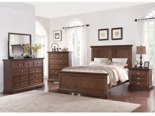 Tamarack Bedroom suite - Hazelnut