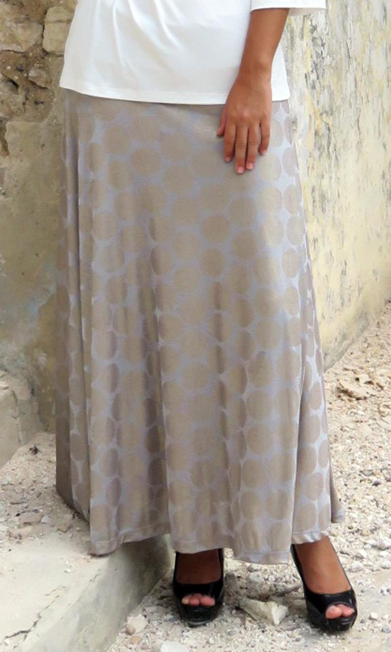 Gold Dot Long Convertible Skirt