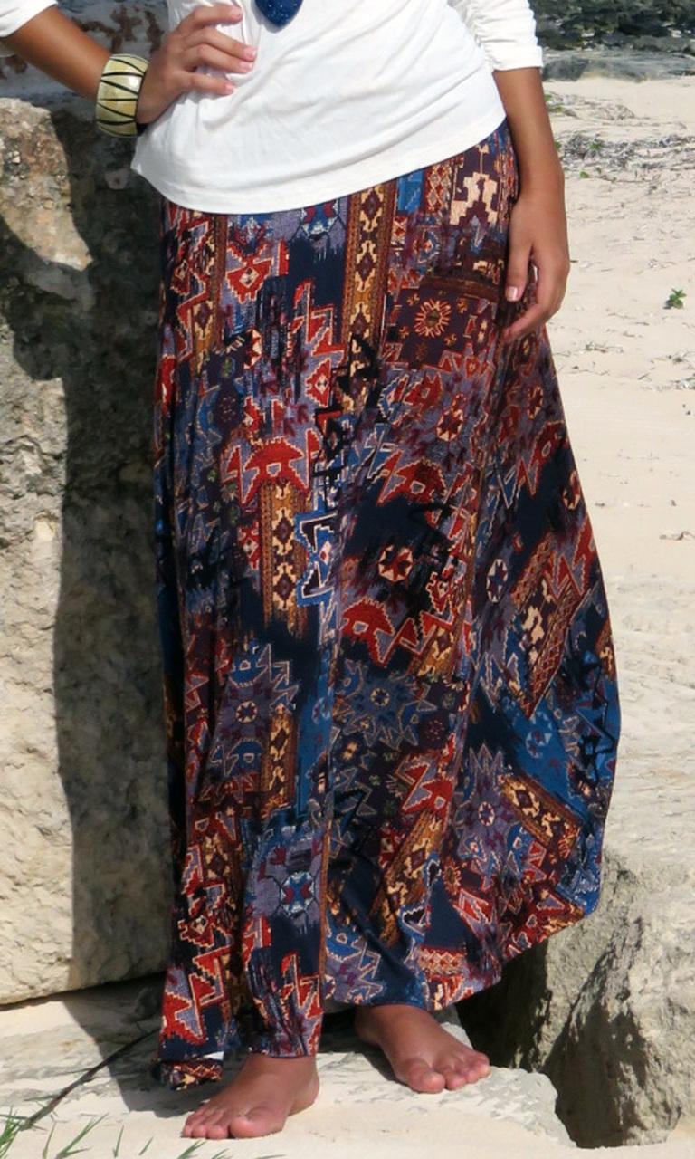 New Tapestry Long Convertible Skirt