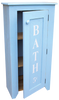 Shown in Old Light Blue with lettering from a vertical 7x36 sign