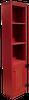 Shown in Old Red with beadboard door
