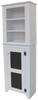 Shown in Solid Cottage White with coordinating 2 ft. Top Hutch (sold separately)