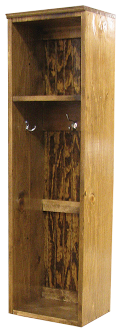 Shown in Walnut Stain & Poly