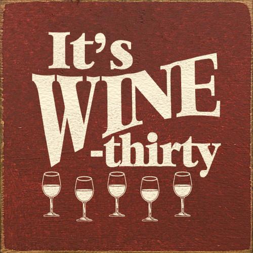 It's Wine-Thirty