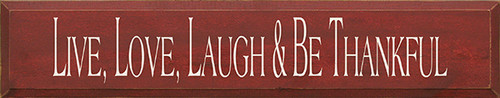 Shown in Old Burgundy with Cream lettering