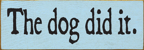 Shown in Old Baby Blue with Black lettering