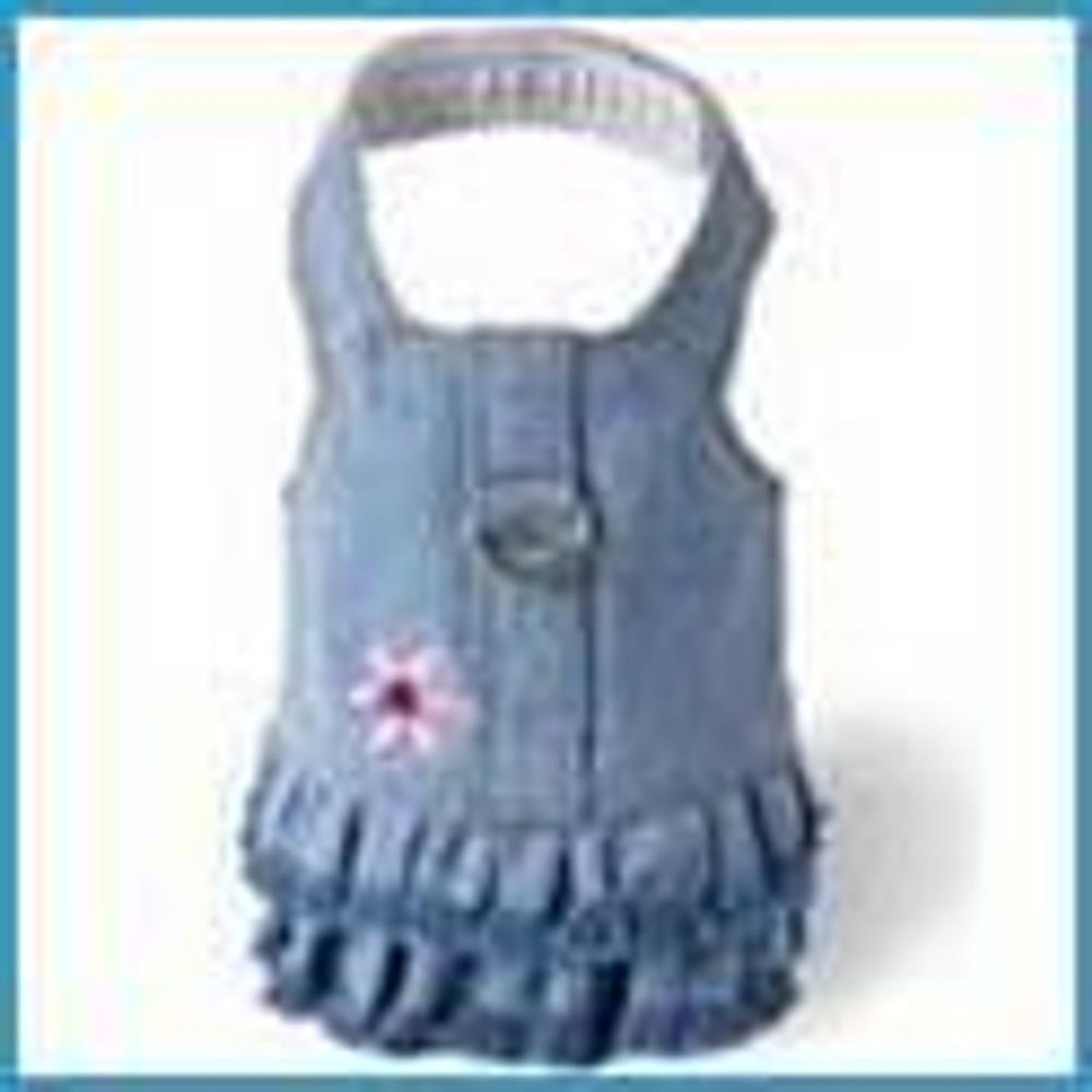 Harness Dress (Denim)