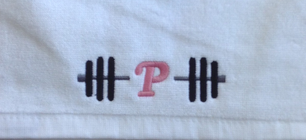 Personalized fitness towel