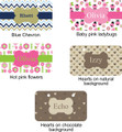 Crate plate (5 designs - personalized)