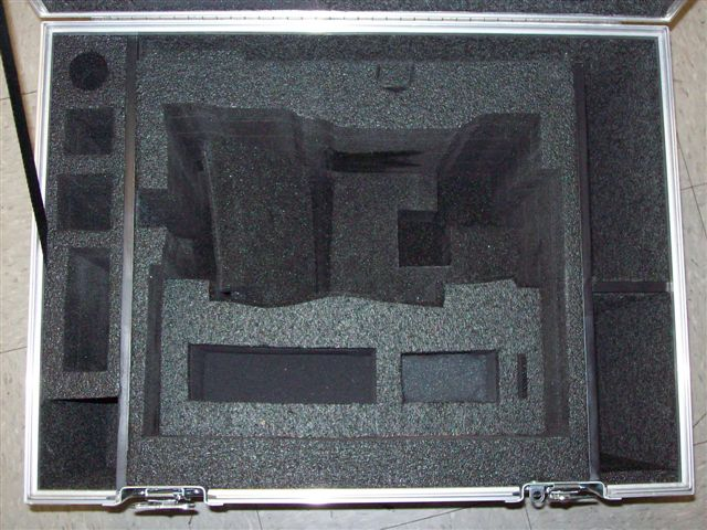 Alexa Camera ATA Shipping Case - Interior View Inserts