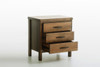 NEW YORK (289) QUEEN 4 PIECE TALLBOY BEDROOM SUITE - RUSTIC ASH