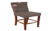 MADRID (VACH-09-WH-LH) BAR STOOL WITH HYACINTH AND LIGHT HONEY LEGS