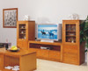 JOE 3 PIECE 2 DOOR TV UNIT WITH 6 DRAWERS - 2450(W) - CHOICE OF COLOURS