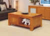 SUNNY COFFEE TABLE WITH LEGS AND 1 DOOR - 500(H) X 1200(W) X 700(D)) - CHOICE OF COLOURS