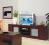 BRESSINGTON LOWLINE TV UNIT WITH 2 DOORS AND 2 DVD PULLOUTS  - 2340(W) - CHOICE OF COLOURS