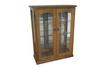 CHINA 2 DOOR DISPLAY CABINET (Z-10) - 1200(H) x 900(W) - BALTIC(#215) OR WALNUT(#219)